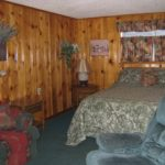 Quanah Parker Authentic Lodge Style Room at Mountain Shadows Lodge Red River, New Mexico